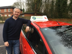Tony, approved driving instructor with Progress Driving School